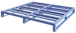 Steel Pallets, For Pharmaceutical / Chemical Industry