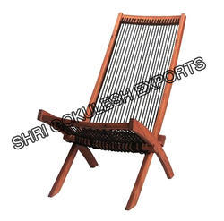 Folding Wood Deck Chair