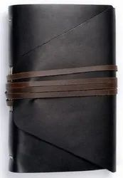 Leather Diary With String Closure