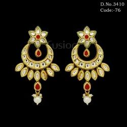 Traditional Kundan Earring