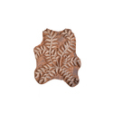 Wooden Leaf  Printing Block