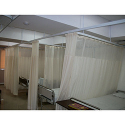 White Hospital Cubicle Curtain