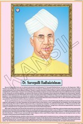 Dr. Radhakrishnan For Life Sketch Of Great Men Chart