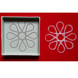 Flower Dotted Rangoli