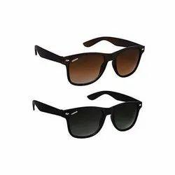 Casual Wear Polycarbonate Wayfarer Sunglasses