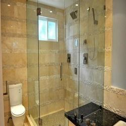 Natural 51-100 Square Feet Shower Glass