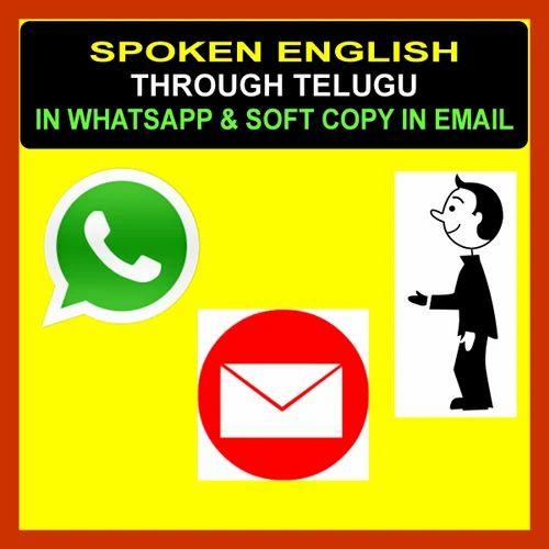 KVR Spoken English Through Telugu Through Whatsapp in