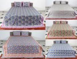 Hand Block Anokhi Printed Bedsheet