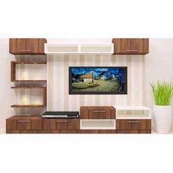 Amber Steel Designer TV Unit