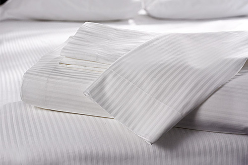 White Flannelette Bed Sheet
