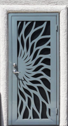 Pryag Laser/ Cnc Cut Metal Door Jalli_1, Decoration, 1 Day