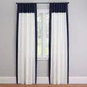 Plain Window Cotton Curtain