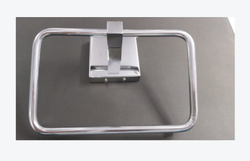 Silver Fancy Modern Stainless Steel Bath Accessories, Size: Adjustable