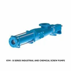 KYM-B Series Industrial And Chemical Screw Pumps
