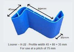 PVC Hollow Louver