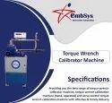 Servo Control Torque Wrench Calibration Machine