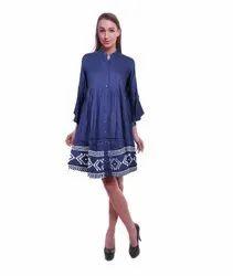Women printed tunic