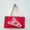 Butterfly Print Handbag
