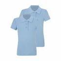 Boys School's Plain T Shirt