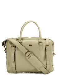 Beige Laptop Bag
