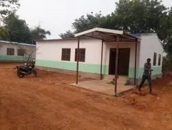 Steel Frame Structures Commercial Project Camp Office Construction