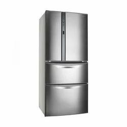 Grey Panasonic Four Door Refrigerator
