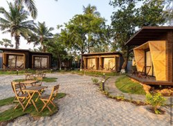 Wood Prefab Beach Huts Atul