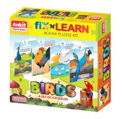 Fix and Learn Puzzle Birds