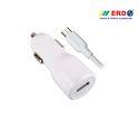 CC 40 Micro USB White Car Charger