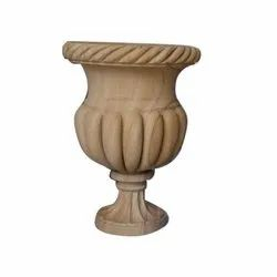 Golden Scorching Marble Handicrafts Fower Port for Decoration