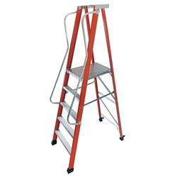 Fiberglass Platform Step Ladder