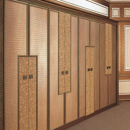 Brown Wooden Wall Panels For