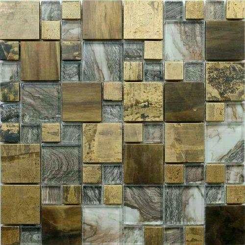 Glass Mosaic Interior Tile
