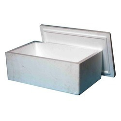 White Thermocol Box