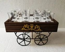 Pinewood Crate Tequila Platter