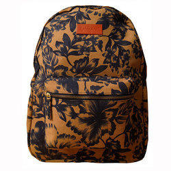 Spice Art Brown Canvas Backpack