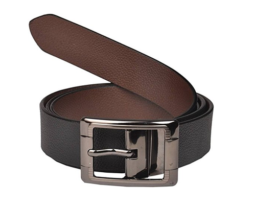 e8c231a5765 Saugat Traders Reversible Genuine Leather Belt For Men. mark as favourite