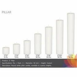 Pillar Candle 2 Inch