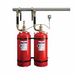 FM 200 HCFC 123 Gas Flooding System