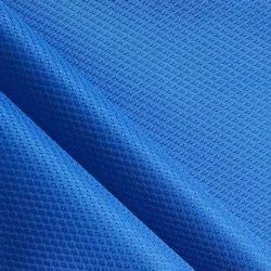 Blue Sports Wear Fabric