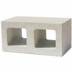Gray Solid Rectangle Concrete Brick, For Partition Walls