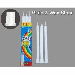 Plain Waxstand Candles