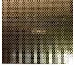 Stainless Steel Silver Linen Finish Sheet