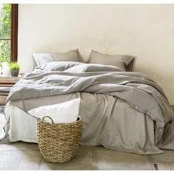 Linen Double Bed Sheet