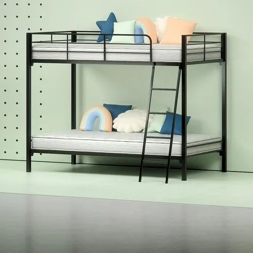 Black Hostel Dormitory Bunk Bed Rs 7500 Piece Timber Talking Id 21873930862