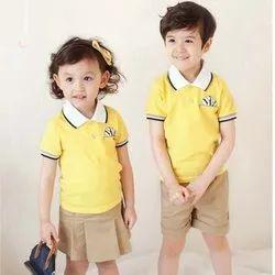 15 Colours Plain Kindergarten School Uniform