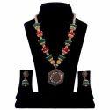 Silk Thread Bead Necklace Set