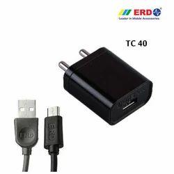 TC 40 Micro USB Black Charger