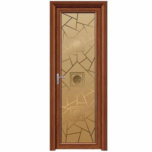 Teak Wood Wooden Glass Door Rs 400 Feet Ms Bajrang Timber