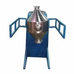 Automatic Stainless Steel 7.5 KW Double Cone Blender, for Mixing